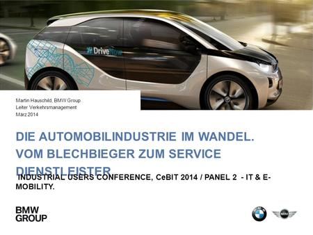 Martin Hauschild, BMW Group