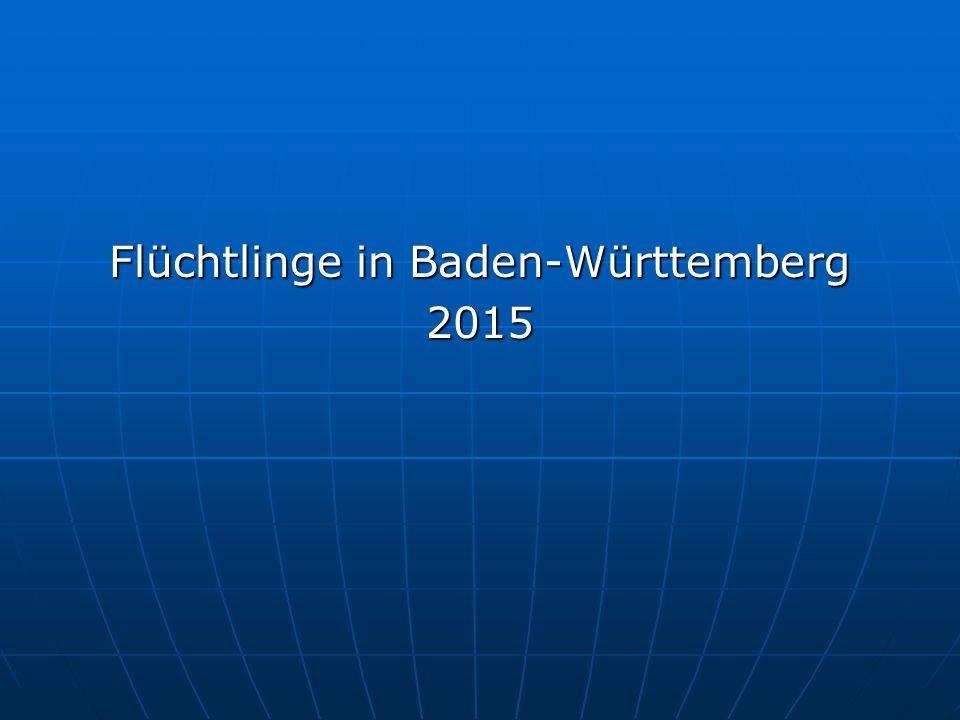 Flüchtlinge in Baden-Württemberg 2015