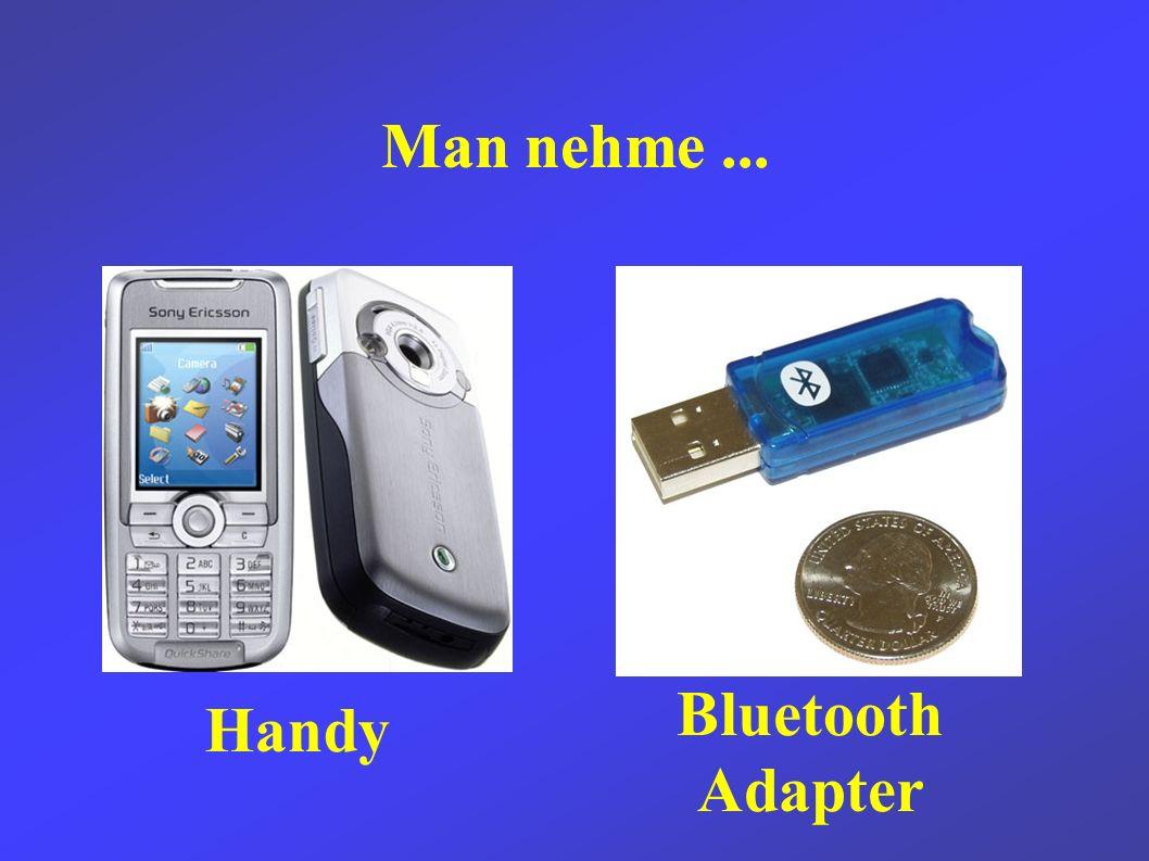 Bluetooth Um keine Kabel zu brauchen, habe ich mich für BT entschieden.