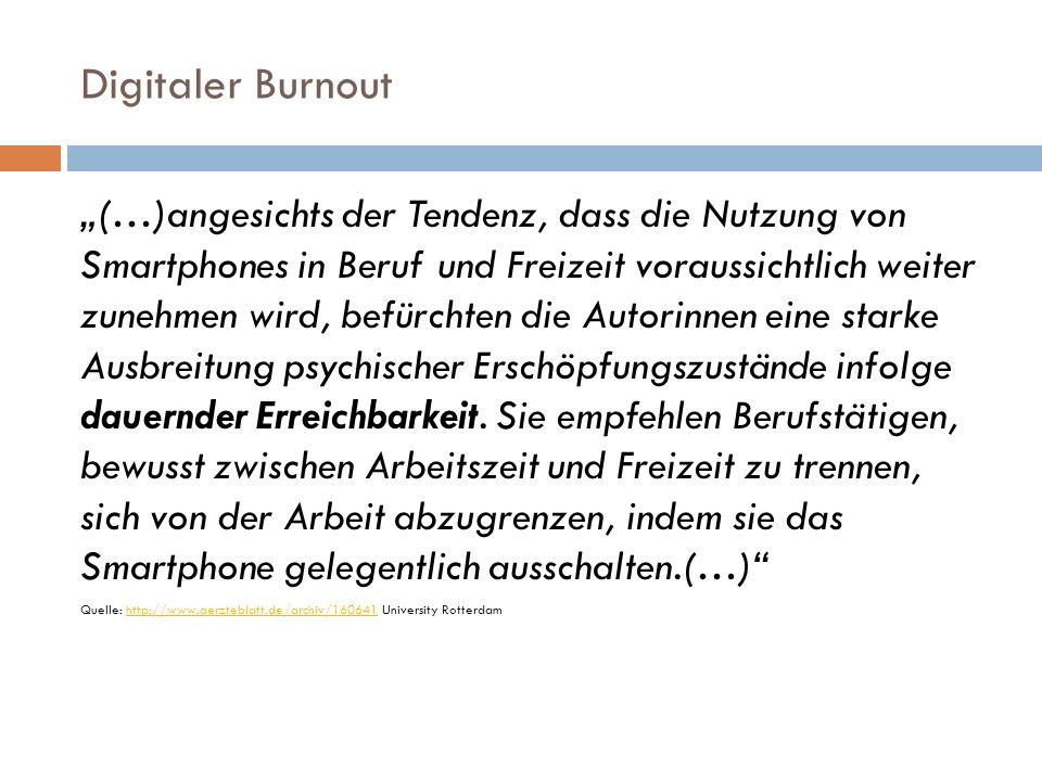Digitaler Burnout – Prof.