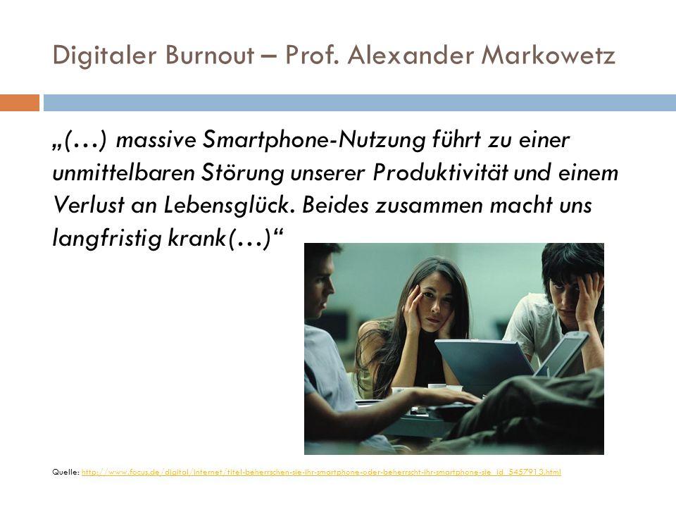 Digitaler Burnout – Humboldt-Universität Berlin Durchschnittlich aktivieren wir das Smartphone 63 Mal am Tag, so eine Studie der.