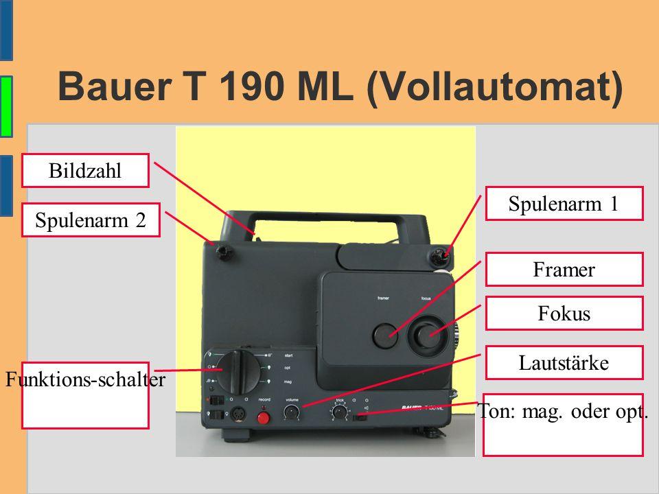 Bauer T81 – stumm – 8 mm