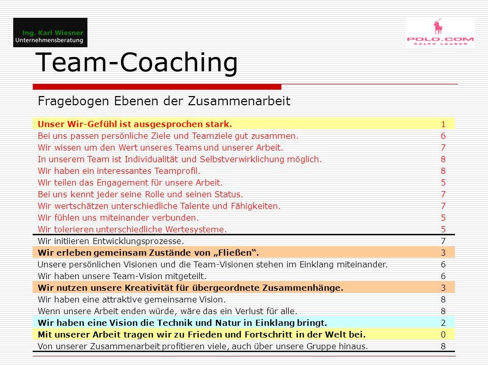 Team-Coaching MP – Team vor Intervention aktivreaktivhinzuweg voninterne Refernzakexterne RefernzoptionalprozeduralMatchingmismatchingint.