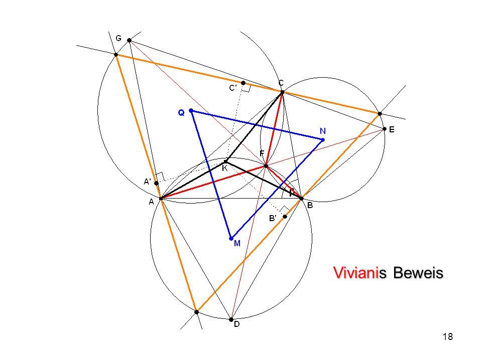 19 4 Optimale Netze Gegeben: n Punkte in der Ebene Gesucht: Kürzestes Wegenetz zwischen ihnen 4.1 n = 2 4.2 n = 3