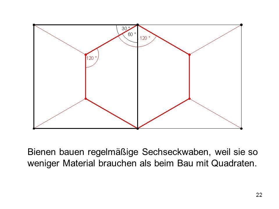 23 Andere Lage der 4 Punkte: Konstruktion analog zu n = 3