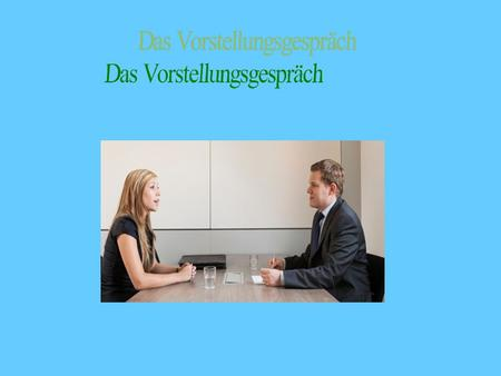 Kennenlernen durch interview