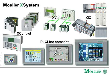 Moeller XSystem XVision XIO XControl PLCLine compact.