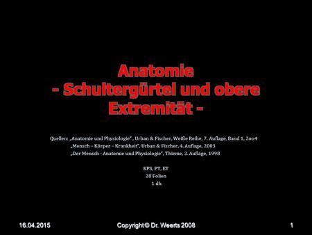 Nett Grundlagen Der Menschlichen Anatomie Und Physiologie Der 7 ...