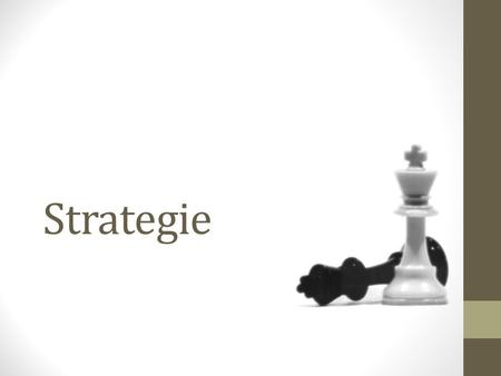 Strategie.