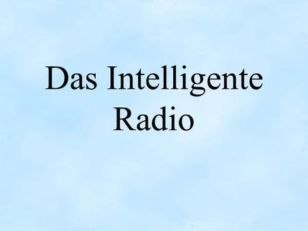 Radio schaltet sich von alleine an Technik - gutefragenet