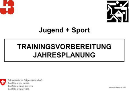 TRAININGSVORBEREITUNG