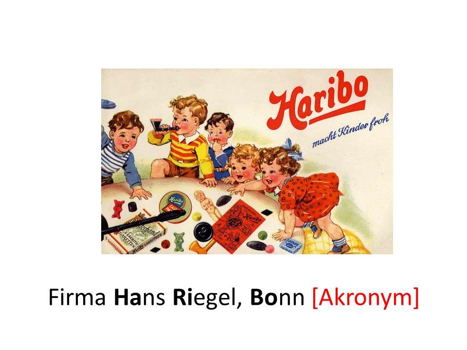 Hariboa[Paarreim] macht Kinder froha