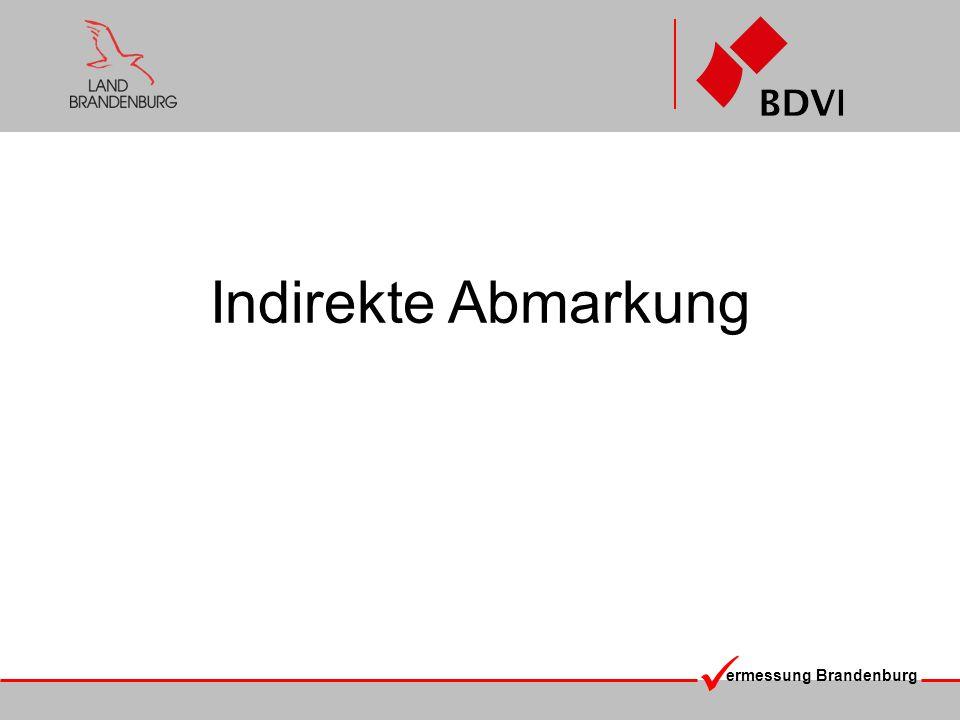 ermessung Brandenburg