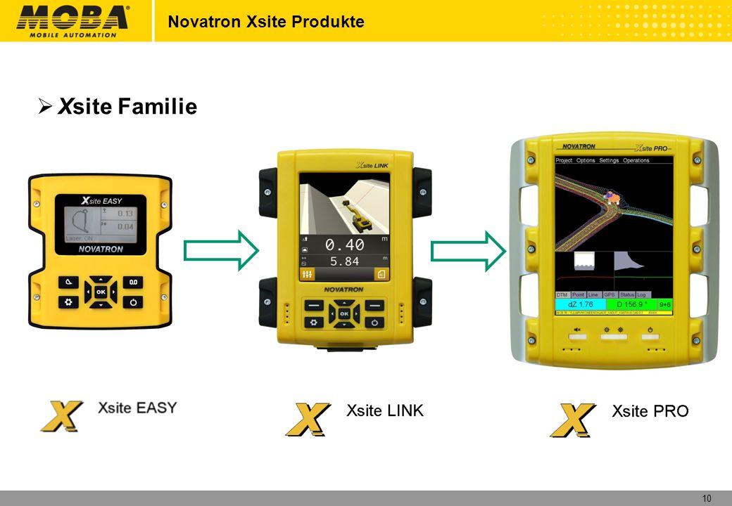 11 Xsite EASY Rechner und Anzeigeeinheit Novatron Xsite Produkte