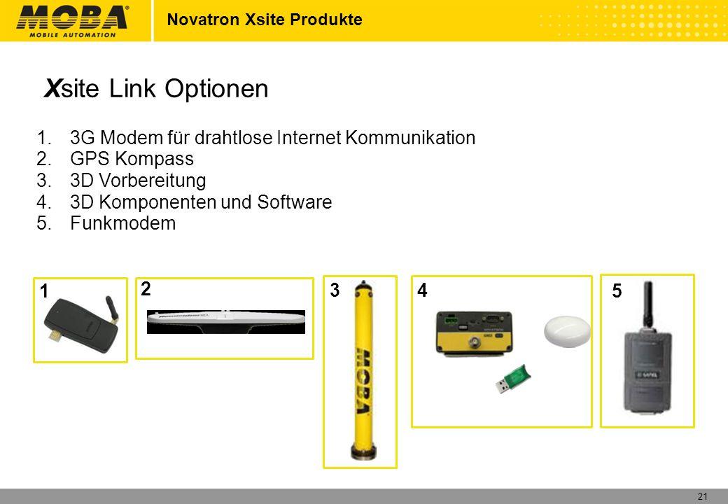 22 Novatron Xsite Produkte