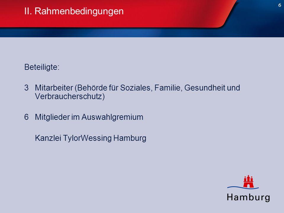 7 II.Rahmenbedingungen Angebote: 13 Bieterfragen:54 Rügen nach § 107 Abs.