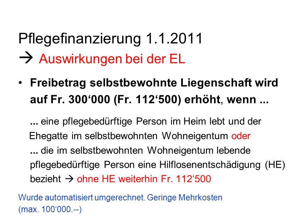 Heimfinanzierung Allgemein 4500 Personen leben in Alters- und Pflegeheimen rund 2800 (62 %) beziehen EL Heimwesen im Kanton Luzern kostet 400 Mio.