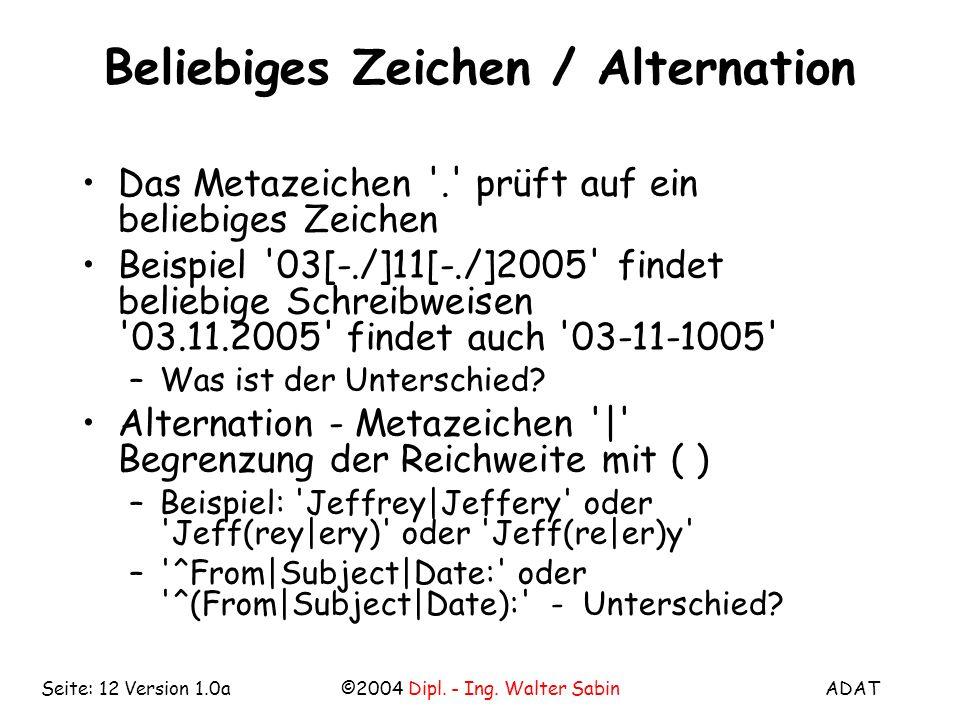 ADAT©2004 Dipl.- Ing.