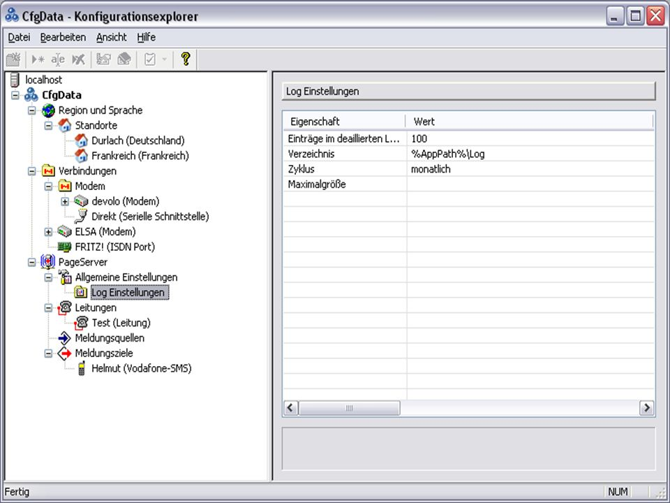 Wir liefern Ideen – leisten Beratung – lösen mit Produkten PageServer PageControl Alarmserver Funktionen Einfache Konfiguration