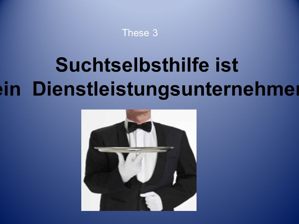 Suchtselbsthilfe ist kompetente Hilfe. These 4