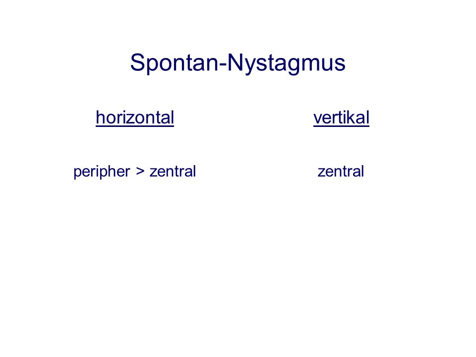 normaler Kopfimpuls-Test* *Halmagyi G.M., Curthoys I.S (1988) Archives of Neurology