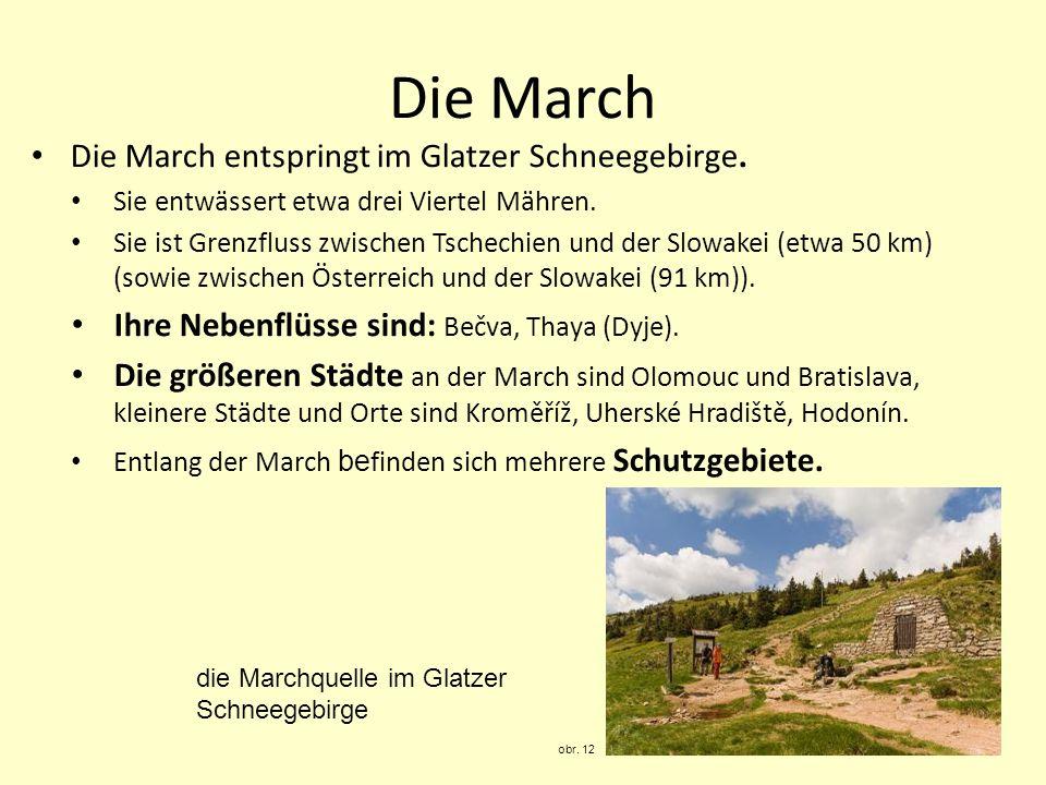 Olomouc – Hradisko obr.13 Die March bei Břeclav obr.