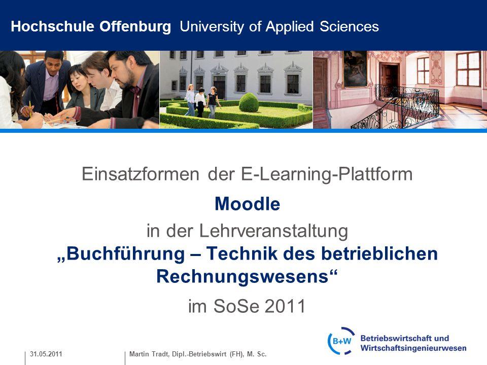 Hochschule Offenburg University of Applied Sciences WARUM Moodle.