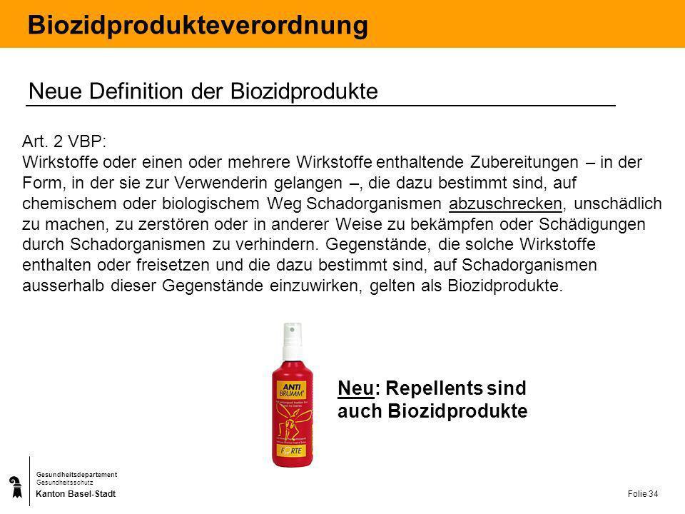 Kanton Basel-Stadt Gesundheitsdepartement Gesundheitsschutz Folie 35 Kundeninformation Faltprospekte