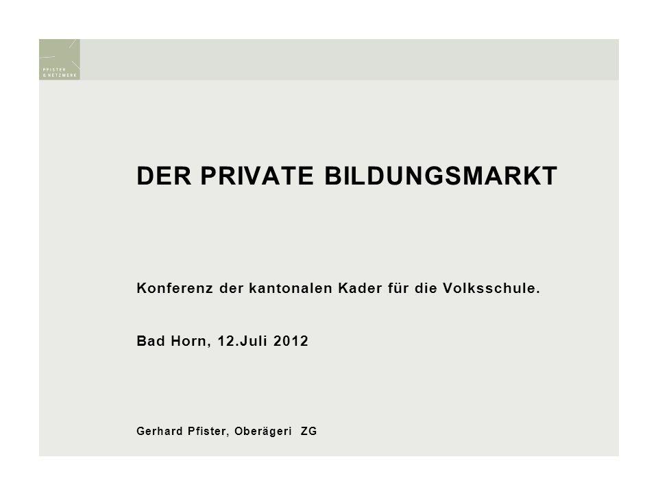Persönliche Verortung 1.Blick auf den privaten Bildungsmarkt 2.Die öffentliche Diskussion 3.Qualität 4.Konkurrenz.