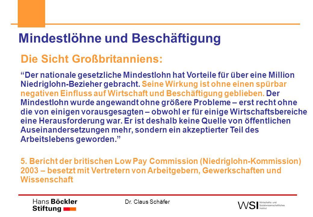 Dr. Claus Schäfer