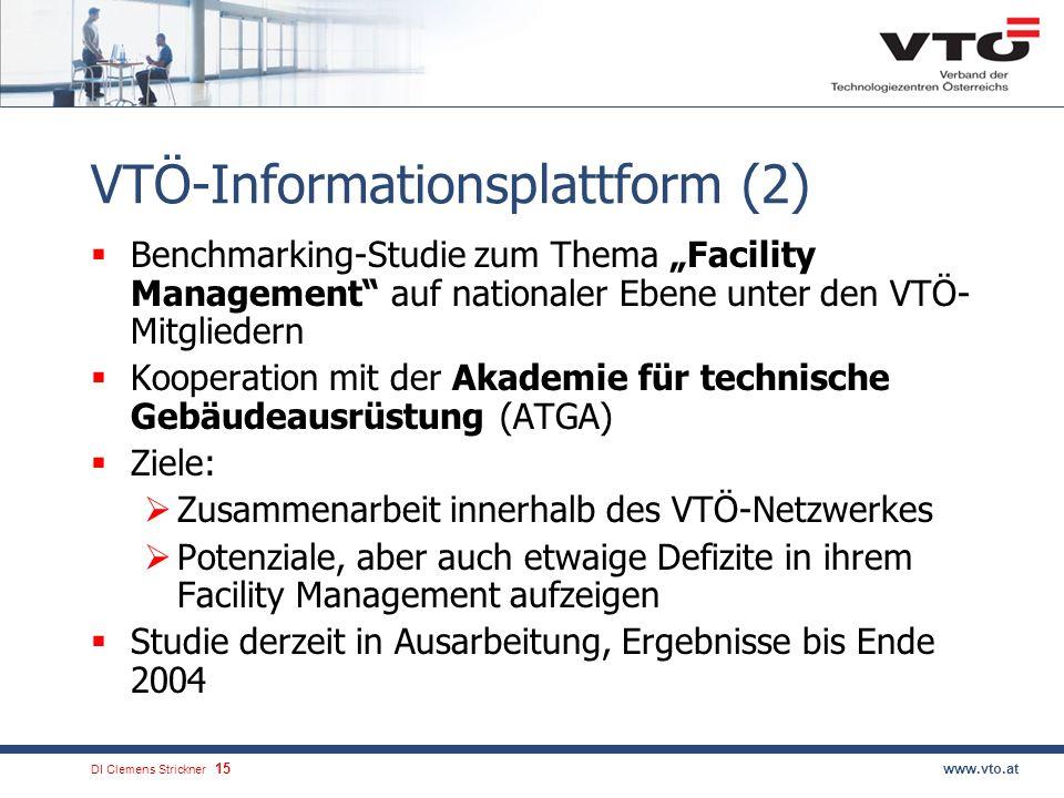 DI Clemens Strickner.16www.vto.at Kontakt DI Wolfgang Rupp, Vorsitzender, geb.