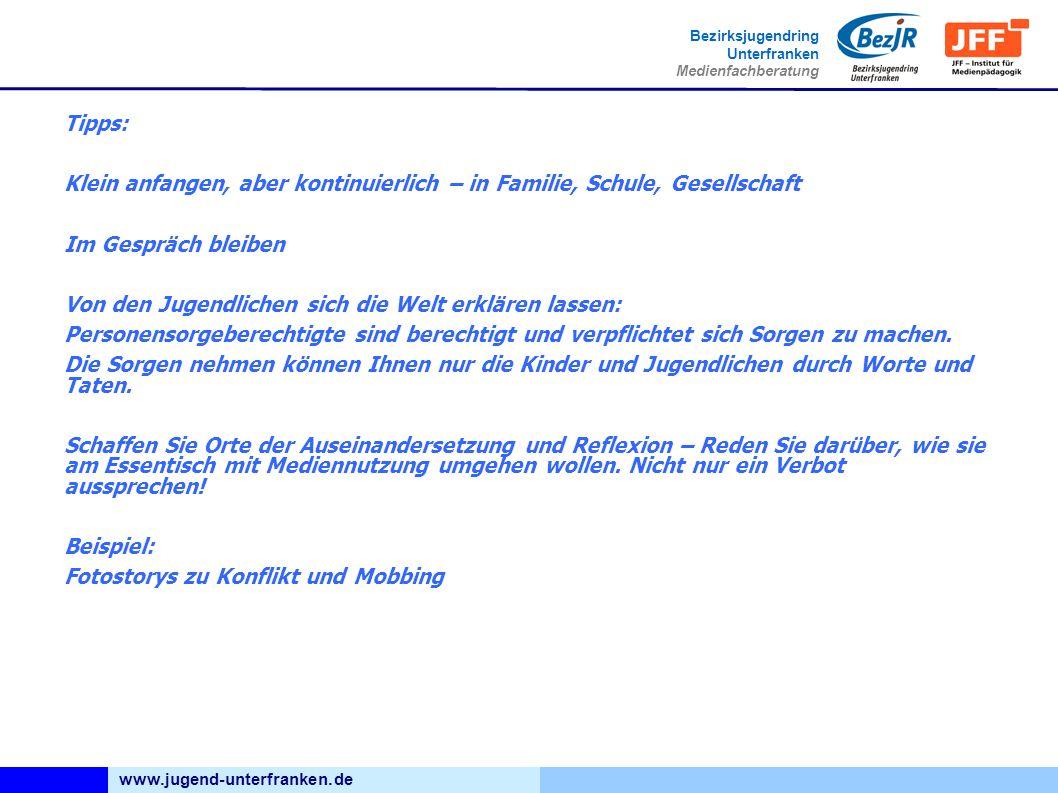 www.jugend-unterfranken.de Bezirksjugendring Unterfranken Medienfachberatung Der gläserne Bürger Das Netz nicht zu nutzen geht nicht.