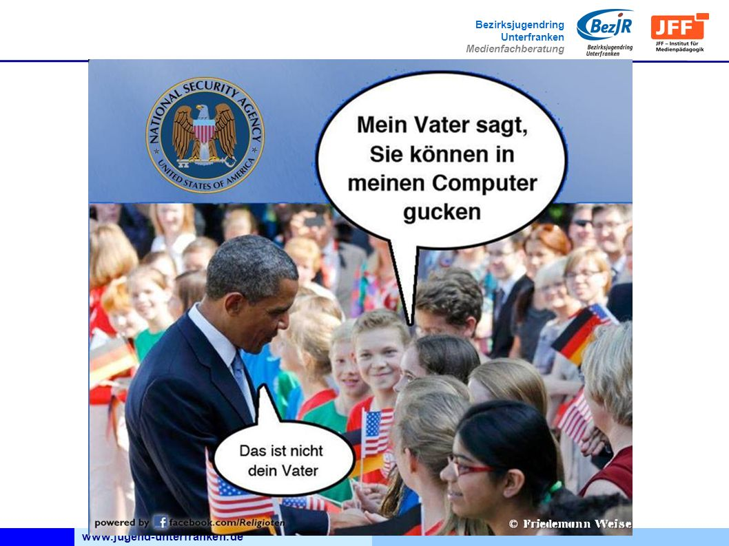 www.jugend-unterfranken.de Bezirksjugendring Unterfranken Medienfachberatung Link zur Seite
