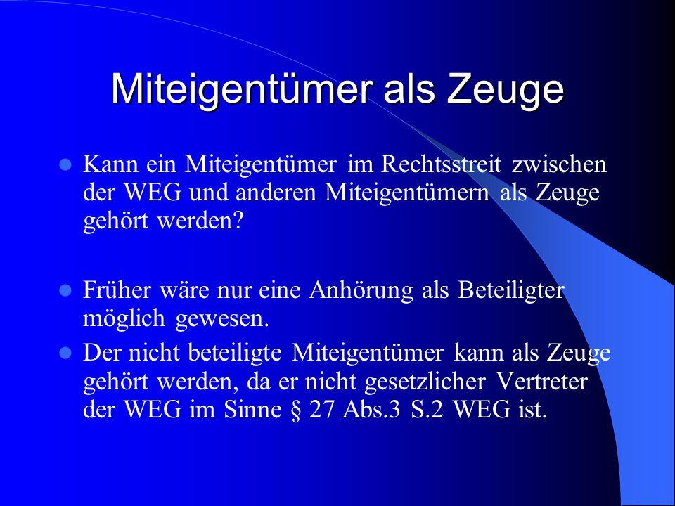Nachschieben von Anfechtungsgründen Seit dem 01.07.2007 finden die Grundsätze des Zivilprozesses auf die WEG-Verfahren Anwendung.