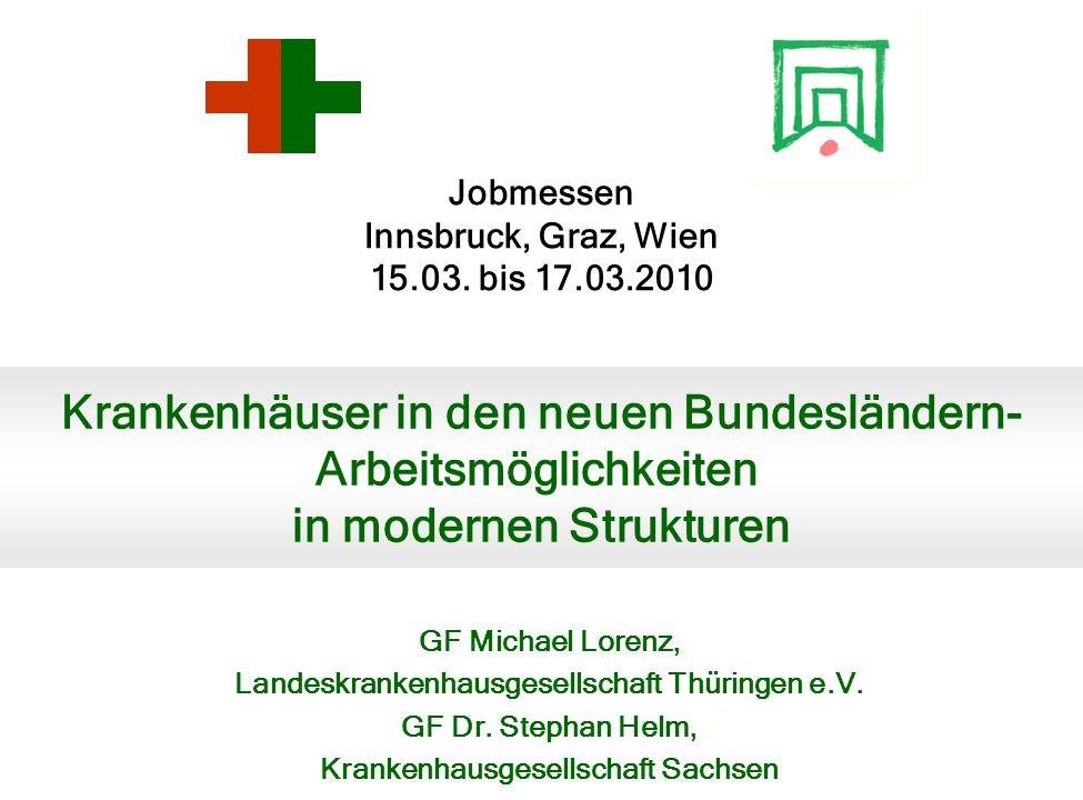 Jobmessen Innsbruck, Graz, Wien 15.03.