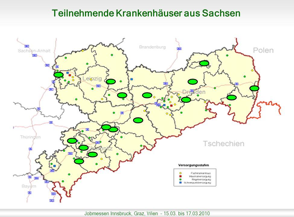 Jobmessen Innsbruck, Graz, Wien - 15.03. bis 17.03.2010 Teilnehmende Krankenhäuser aus Thüringen