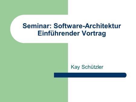 Inhaltsverzeichnis seite was ist marketing ppt for Software architektur