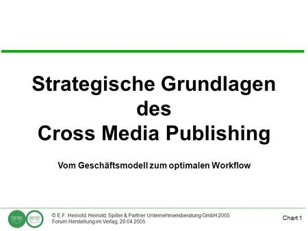 Strategische Grundlagen des Cross Media Publishing