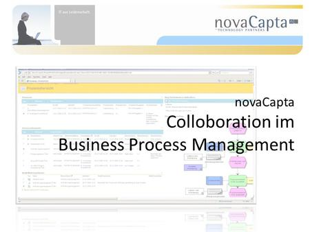 NovaCapta Colloboration im Business Process Management.