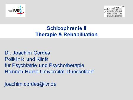 Therapie & Rehabilitation