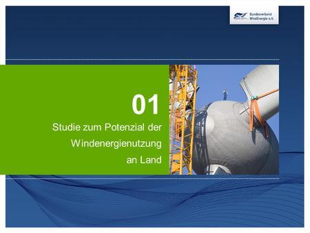 Studie zum potenzial der windenergienutzung an land