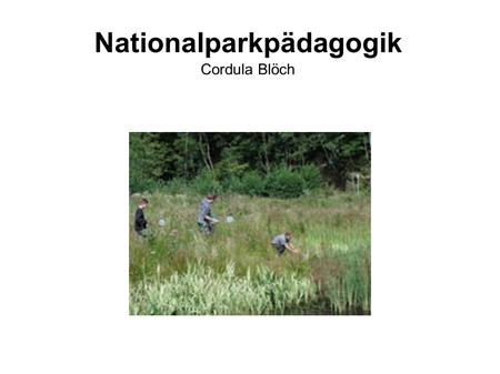 Nationalparkpädagogik