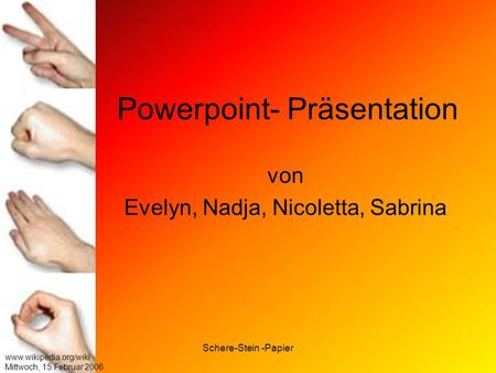 Powerpoint- Präsentation