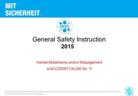 General Safety Instruction