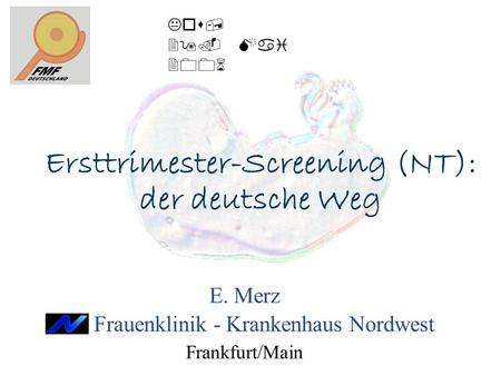 Ersttrimester-Screening (NT):