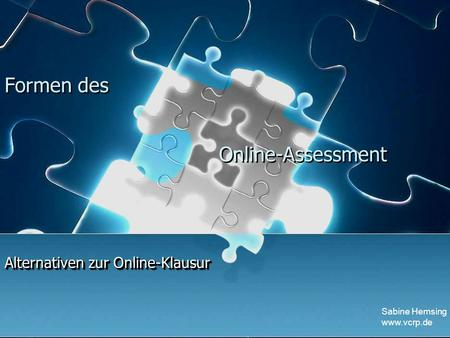 Alternativen zur Online-Klausur