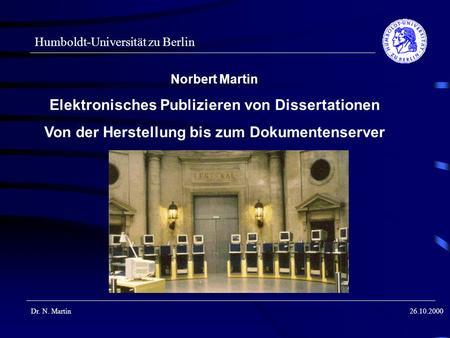dissertationen online publizieren