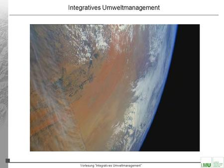 Integratives Umweltmanagement