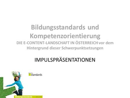 IMPULSPRÄSENTATIONEN