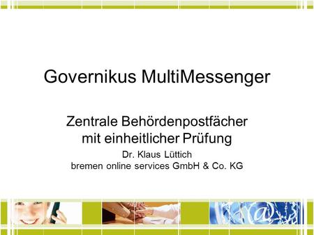 Governikus MultiMessenger